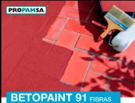 Photo Peinture Betopaint 91 fibre revêtement imperméable 5kg