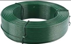 Photo Fil de fer plastifié vert 1.7/2.7 100m, Fil de fer plastifié vert 2.2 50m