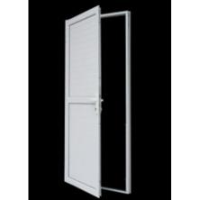 Menuiserie aluminium -Porte aluminium volet battant plein
