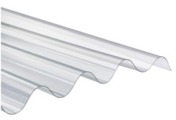 TOLE ONDULEE POLYCARBONATE / PRIX AU ML 70/18