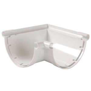 ANGLE GOUTIERE 25 BLANC