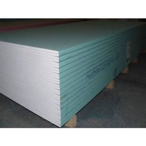 PLAQUE DE PLATRE HYDROFUGE BA13 SAINT GOBAIN H2 1200X2500X12.5MM