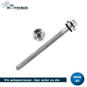 SERTINOX BOIS 6.5X75 TOLE ONDULEE
